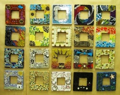 mosaic frames student work - Mosaic Frames