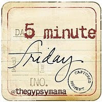 If you have a minute on friday, join the writing fun