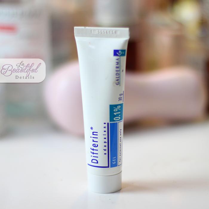 Retinol Cream: Galderma Differin 0.1%