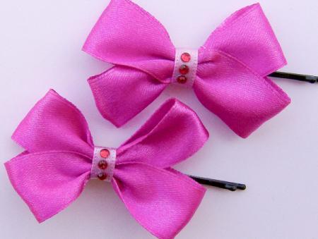Lazos lindos para el cabello de niñas - Imagui