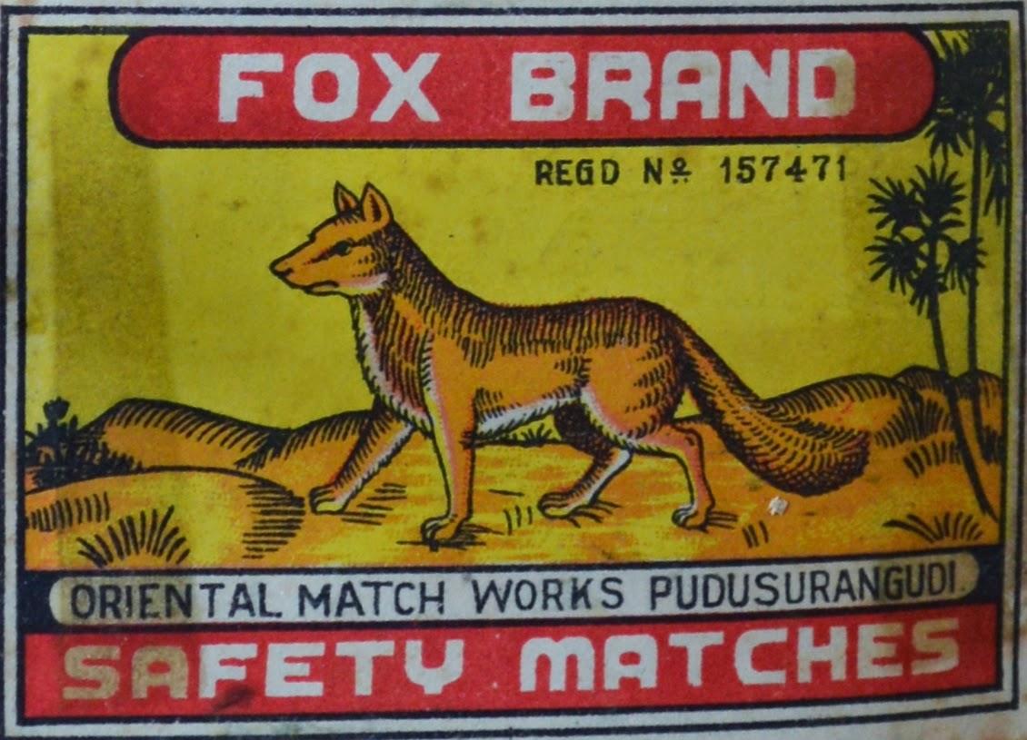 Fox Brand Oriental Matchworks