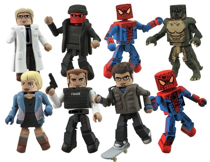 That Figures: NEWS: Amazing Spider-Man Minimates Revealed