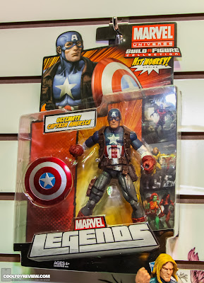 Hasbro 2013 Toy Fair Display Pictures - Marvel Legends - Ultimate Captain America carded