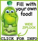 Little Mashies Reusable Food Pouches for Kids!