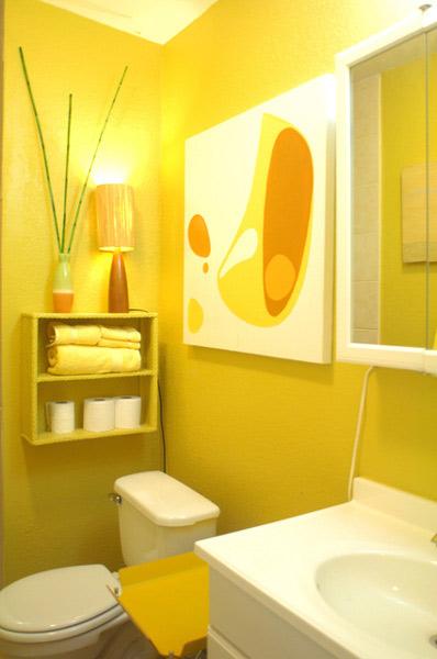 Sítio Bela Vista Junho 2012 -> Decorar Banheiro Amarelo