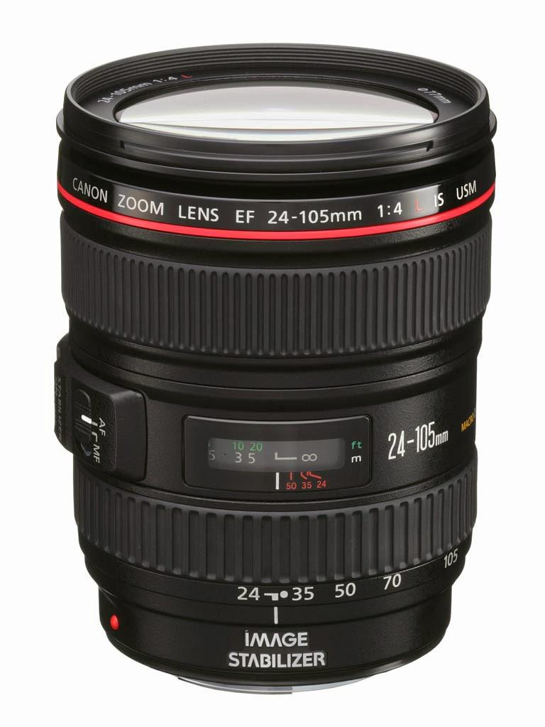 Harga Lensa Kamera Canon EF 24-105mm F/4L IS USM Terbaru