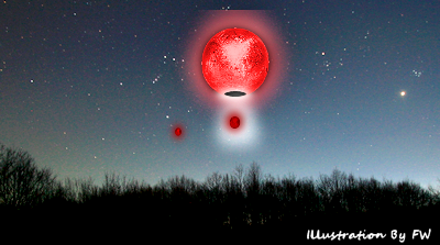 Small Orbs Move Out of UFO, Reports Witness