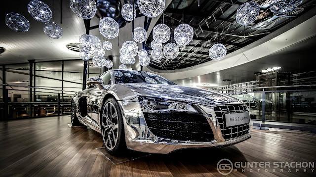 Aluminium Edition Audi R8 5.2 FSI
