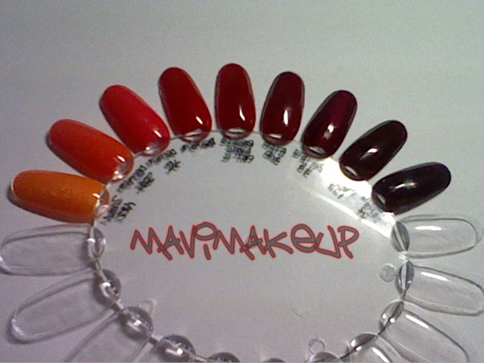 Mavi MakeUp: Mis esmaltes de uñas