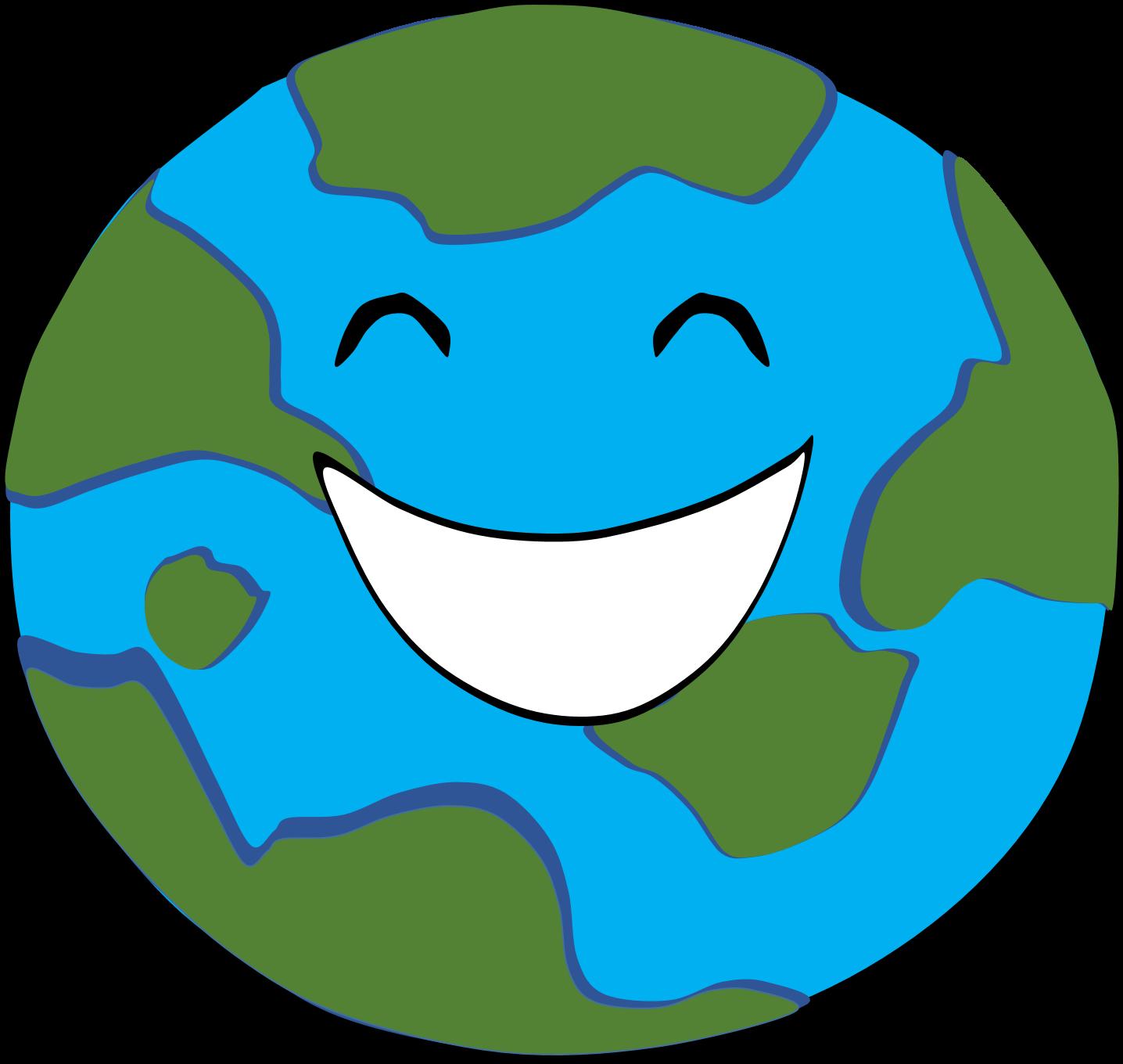 Happy Earth Clipart | www.imgkid.com - 166.7KB