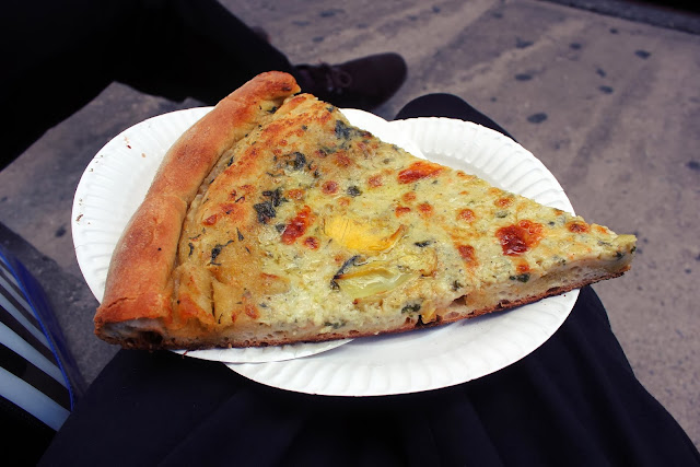 artichoke pizza travel new york