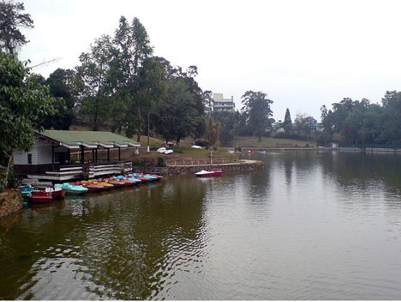ward lake in shillong