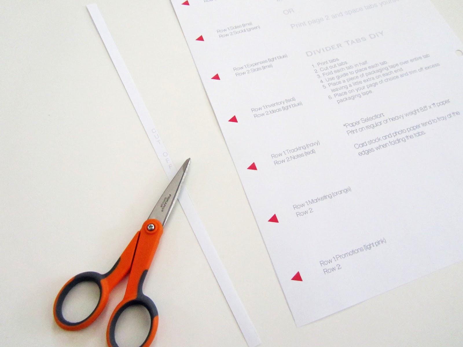 planner divider template - Akba.greenw.co