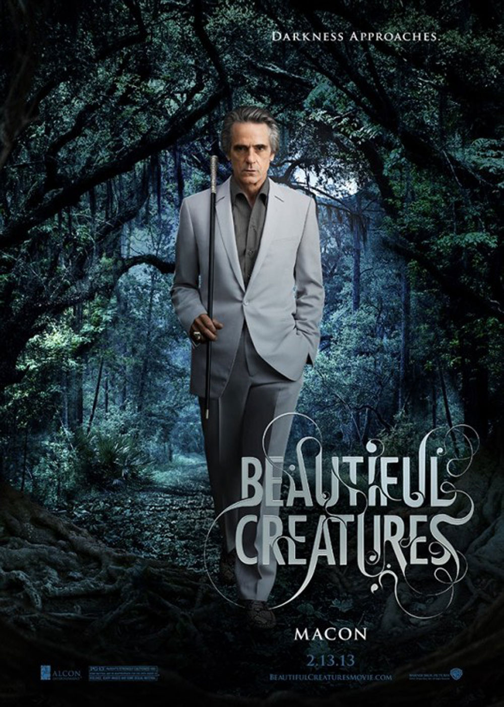 Beautiful Creatures Trailer Movie Poster Character