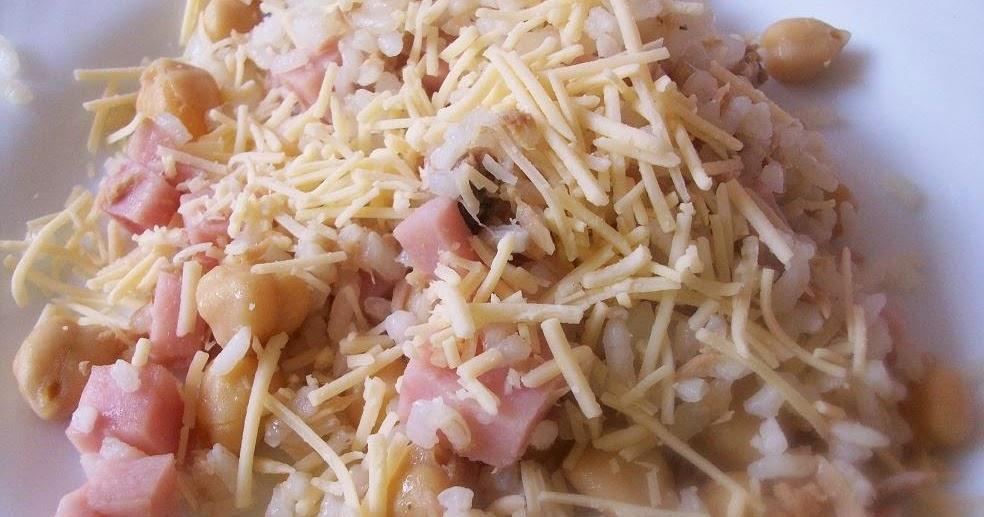 A mi manera arroz con garbanzos y jam n york - Arroz con alcachofas y jamon ...