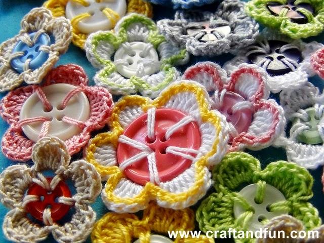 苦手な輪を作って編み始め!をしないで編めるモチーフ