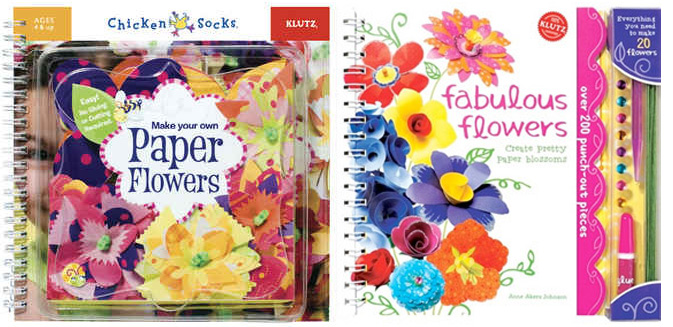 100 percent klutz valentines bouquets with paper flowers and each of these colourful kits comes with tons of fun floral pieces to mix match and mount with pre cut pieces and pipe cleaner for the littles ages 4 and mightylinksfo