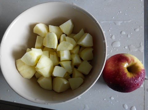 制作不氧化的苹果泥