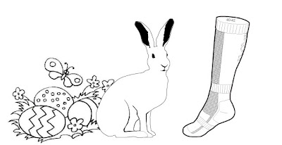 kori hare sportsock easter bunny