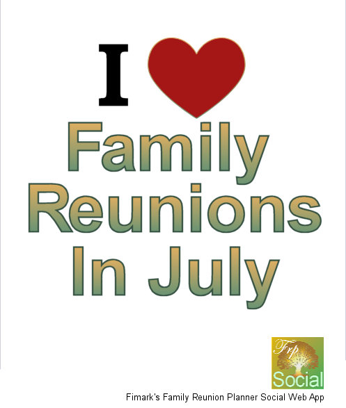Fimark's Family Reunion Planner Social web app