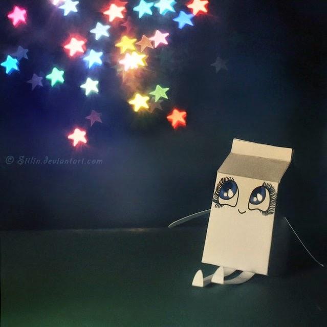 """""""Milky Photo"""" Cajas de leche con emociones 30"""