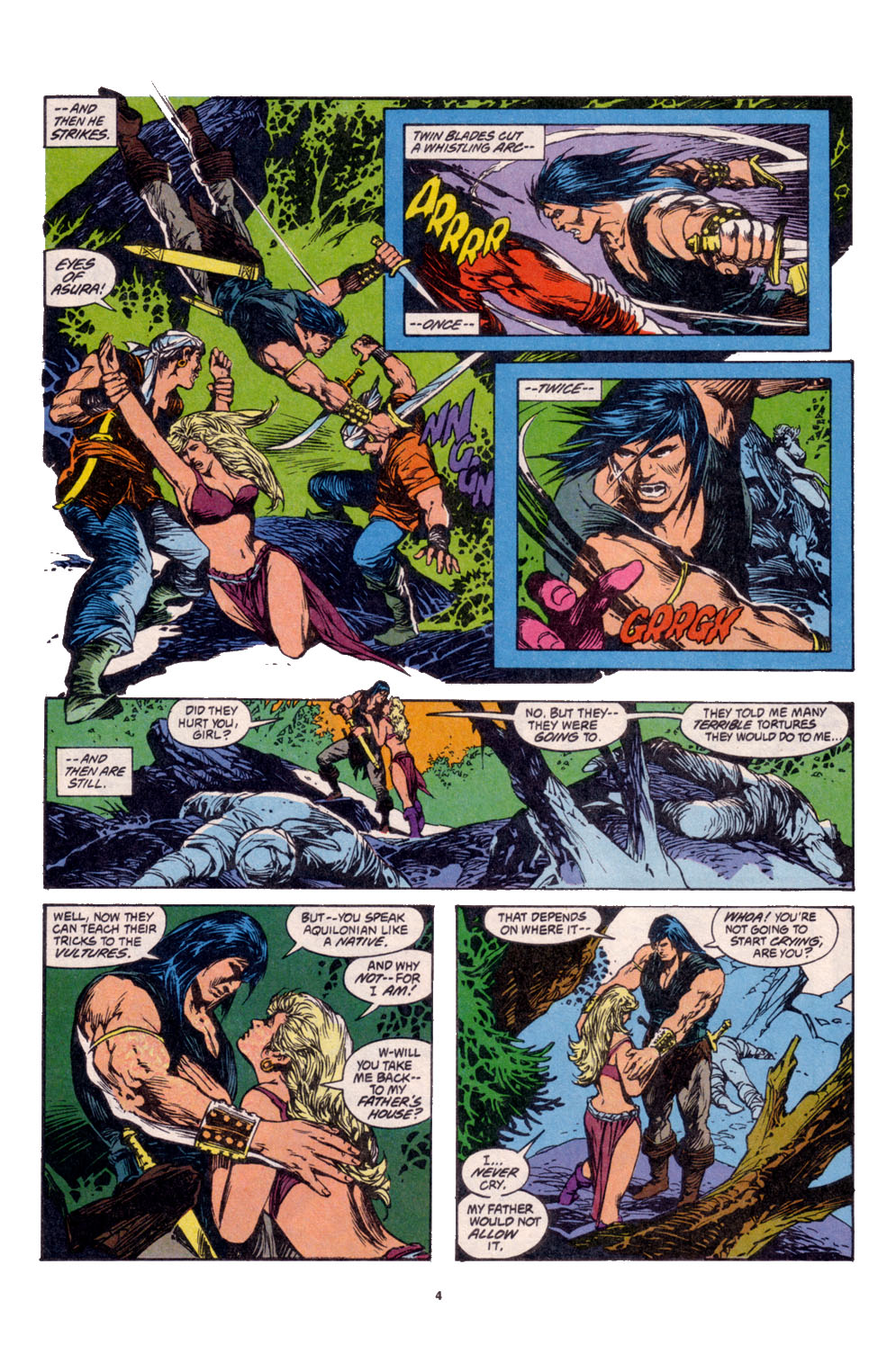 Conan the Barbarian (1970) Issue #261 #273 - English 5