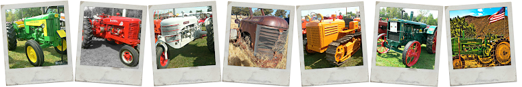 Antique Tractor Photo Collection
