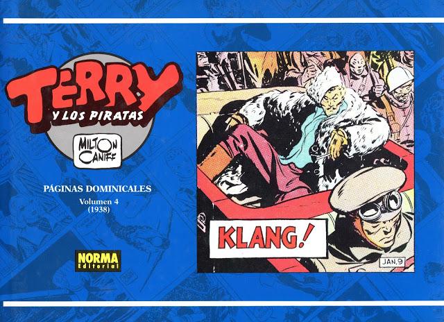 Terry y los piratas. Milton Caniff. 12 Tomos - Norma Ed.