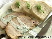 Pečené karé s kôprovou omáčkou - recept