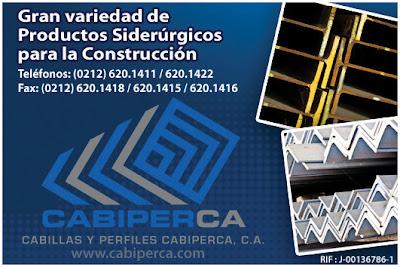 CABILLAS Y PERFILES CABIPERCA, C.A. en Paginas Amarillas tu guia Comercial