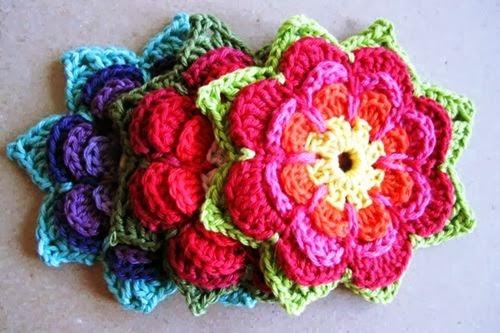 Pola Gratis Gantungan Kunci Amigurumi : Inspirasi rajut bunga crochet dan pola gratis she nisa