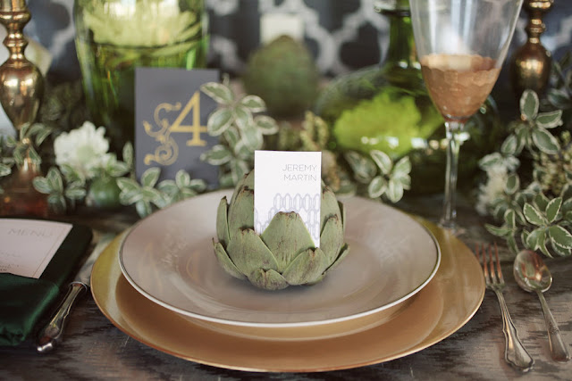 Metallic+3 Wedding Inspiration: Metallic