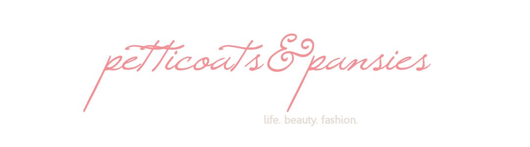 Petticoats & Pansies