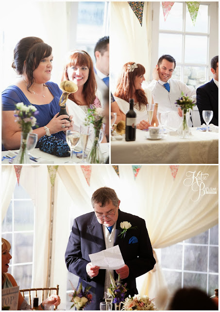 wedding speeches, ronald joyce, victoria jane, wedding dress, fitted wedding dress, unusual veil, danby castle wedding, quirky wedding photography, katie byram photography, north east wedding, yorkshire wedding photography, whitby wedding, dogs at wedding, horse at wedding, pets at wedding