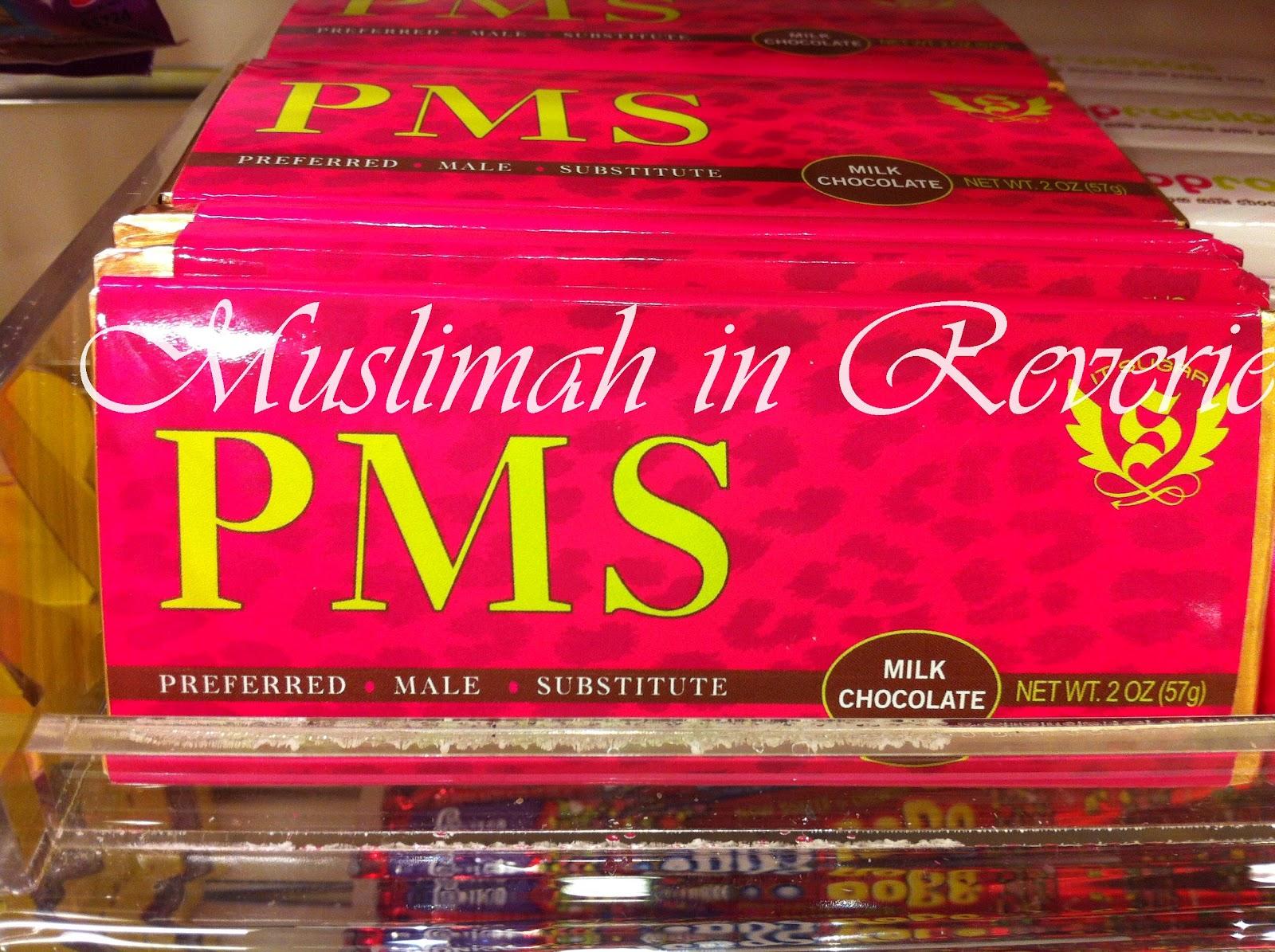 American chocolate: PMS « www.muslimahinreverie.com
