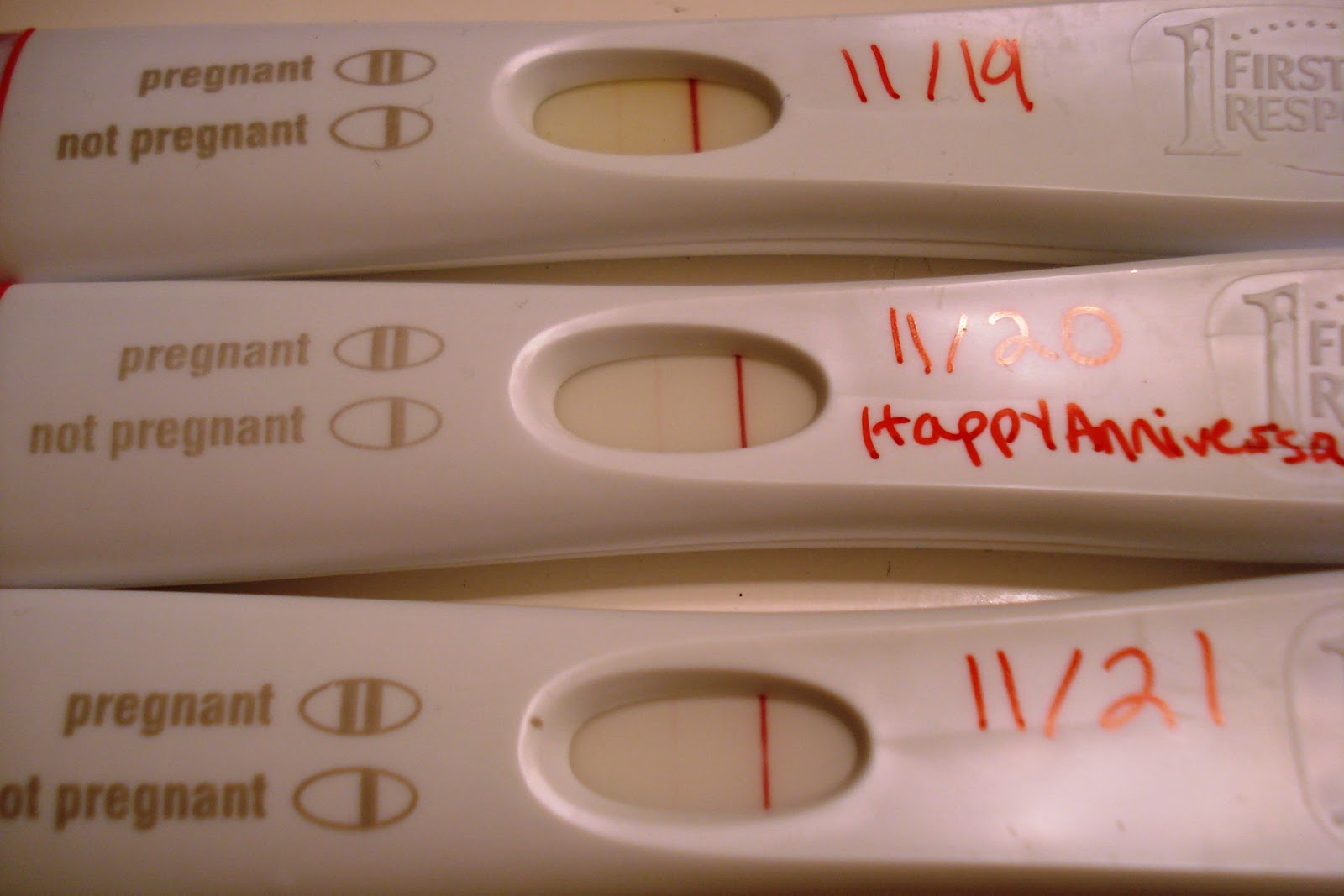 how to get a pregnancy test to read positive