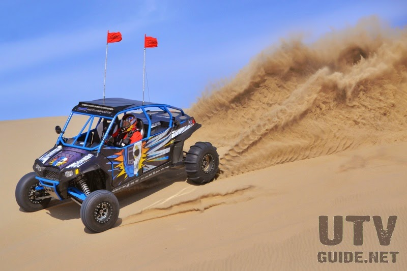 Big bore, turbocharged, long travel Jagged X RZR XP