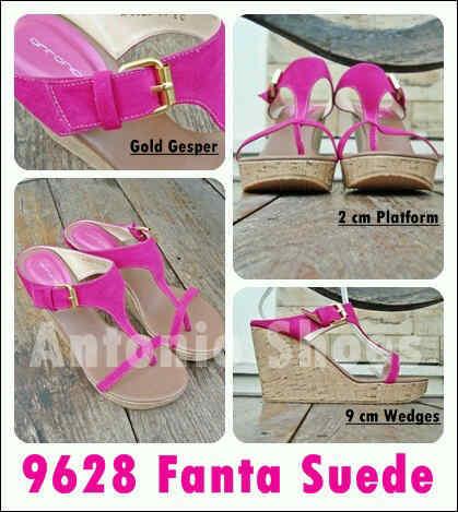 Aneka model sepatu sandal wanita murah,Model terbaru sandal wanita Fanta Suede