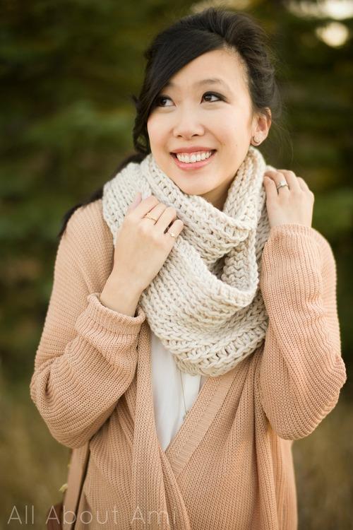 Crochet Cowl Pattern All About Ami : Hopeful Honey Craft, Crochet, Create: 10 Free Warm ...