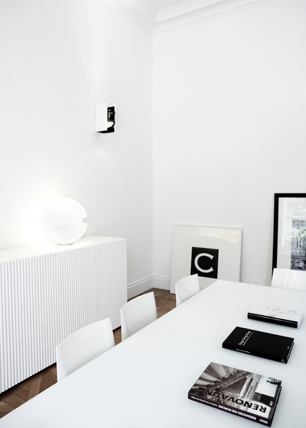 Absolute white for creative research for Architecture utopique nomade