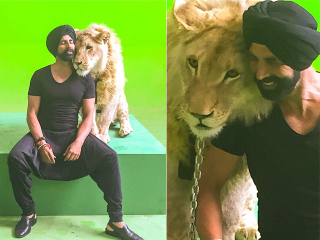 Akshay Kumar on Shooting With Real Lion In Lion Punjab Presents - Bollywood News