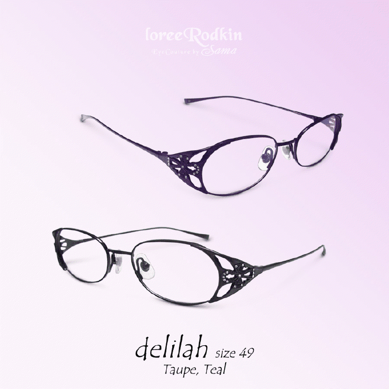 Loree Rodkin Delilah Eyeglasses REPLACEMENT LENS EXPRESS