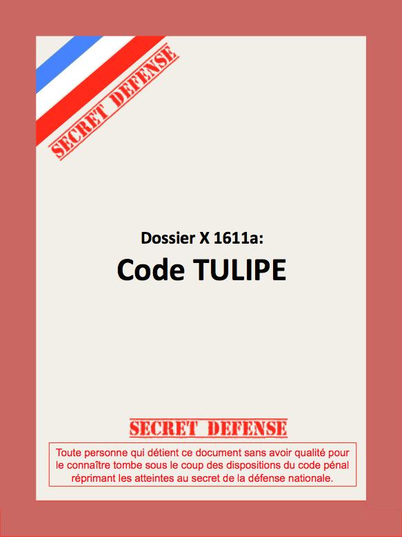 Dossier Code Tulipe