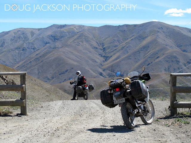 MOLESWORTH JUNCTION ROAD IN NEW ZEALAND - TOURING ON KLR650'S