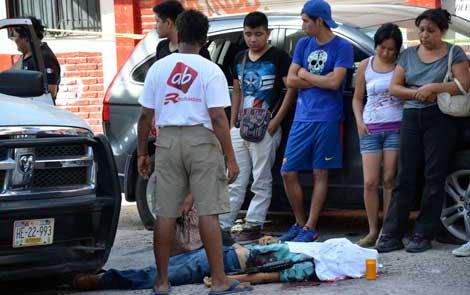 ASESINAN A COMANDANTE POLICIACO EN CHILPANCINGO