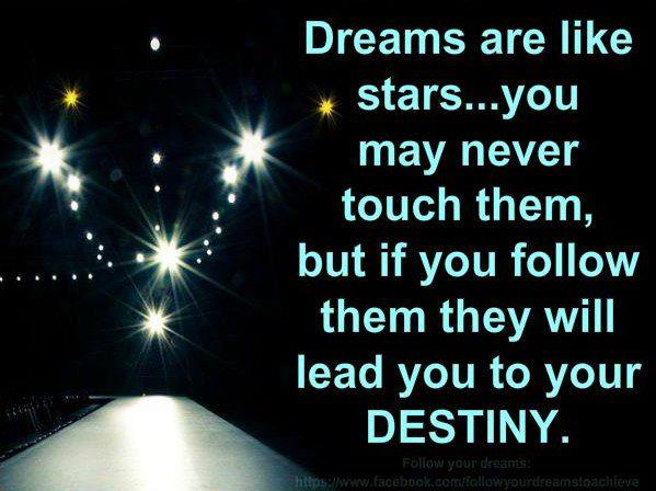 dreams are like stars you may never touch them images