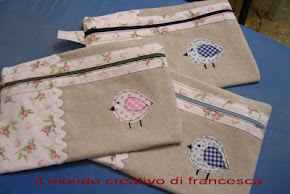 1° SAL di Francesca: Astuccio piatto - terminato!