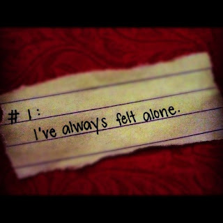 i always felt alone quote