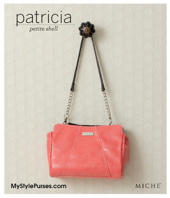 Miche Patricia Petite Shell - Coral Purse