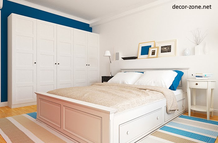 white blue bedroom ideas for paint color combinations bedroom rugs and pillows